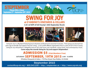 Steptember - Swing for Joy Event